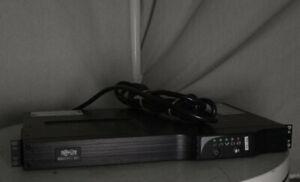 Tripp-Lite SMART500RT1U SmartPro UPS Power Supply 7 Outlet 500VA 300W 1U