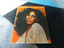 DONNA SUMMER GREATEST HITS ORIGINAL UK 1978 SONGBOOK RARE