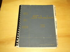 1966 Schwinn Bicycle Sales Register. Includes ordering information for all bikes