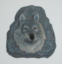 Silver Sentinel Bradford Exchange Wolf Wall Decor Souls Of The Earth W/Coa