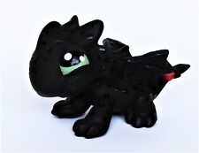 Littlest Pet Shop Baby Toothless ooak custom figure Hand painted LPS Dragon