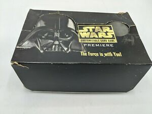 Star Wars Premiere Limited Edition CCG 36 Pack Booster Box Display Decipher New
