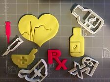 Medical Supplies (First Aid) Cookie Cutter Set
