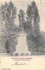 BR56045 Notre dame du Travail and Fayt Manage la statue de la vierg      Belgium