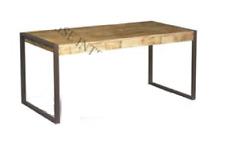 Mesa de Comedor o salon Vintage de madera maciza de mango 150cm