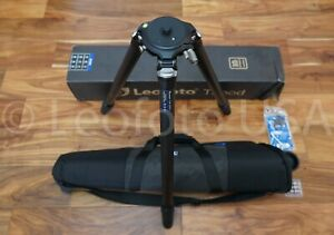 """""""Open Box"""" Leofoto LM-324CL Long Tripod with Video Bowl and Case"""
