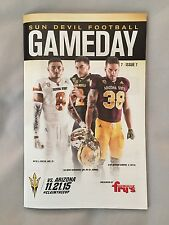 2015 College Football Gameday Program Arizona State-Arizona