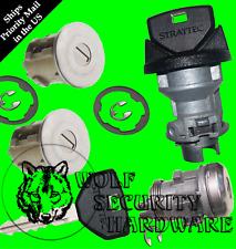 Grand Cherokee 1996 Ignition Switch Lock Cylinder & Door & Rear Lock Set 2 Key