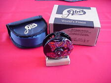 Abel Fly Reel Super 4N Larko BrownTrout CUSTOM Fish Graphic Reel NEW GREAT