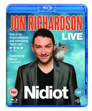 JON RICHARDSON LIVE 2014 - NIDIOT - BLU-RAY - REGION B UK