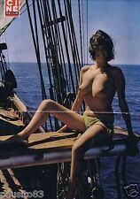 Coupure de presse Clipping 1976 Poster Anne-Marie 52 x 33 seins nus