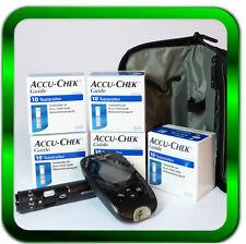 Accu Chek Guide Blutzuckermessgerät Set mg/dL + 50 Sensoren Neu | Händler