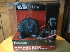New  Disney Star Wars iHome Darth Vader Bluetooth Speaker.  Li-B66DV.FX