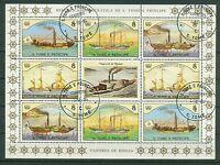 Sao Tome und Principe Kleinbogen 916 - 919 , o ,