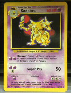 "Pokemon Base Unlimited Edition Uncommon Monster Card - Select from ""Styles"" Mint"