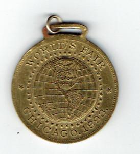 1893 World's Fair Medal Advertising Spitz Landauer & Co. Boy's Clothing