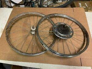 Schwinn Fastback 5 Speed Bicycle Wheel Set