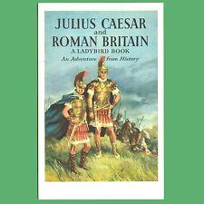Julius Caesar And Roman Britain - Ladybird Book Cover Postcard