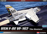 1/72 USN F-8E VF-162 The Hunters #12521 ACADEMY