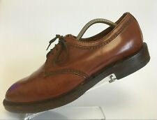 LOAKE BROS Brown Leather Derby Shoes BISEL Mens 8.5 EE