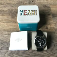 Genuine Fossil Men's Leather Band CH2972 Analog Watch - Water Resistant - Boxed
