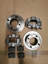 "Classic Mini front 7.5"" brake disc, pads and caliper kit Rover Morris Austin"