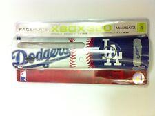 8 GROS LOT NEUF Officiel LA Los Angeles Dodgers MLB PLAQUE FRONTALE POUR XBOX