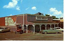 Lulu Belle Restaurant Western Bar-Old Cars-Scottsdale-Arizona-Vintage Postcard