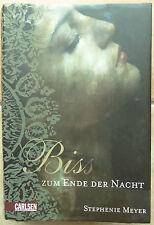 Bis Biss zum Ende der Nacht Stephenie Meyer 2009 Gebunden Buch Carlsen Vampir
