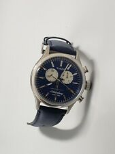 NEW TIMEX WATERBURY Chronograph Quartz Blue Dial Men's Watch TW2P75400 RunsGreat