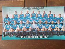 1999  Cronulla Sharks team photo