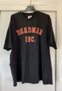 Vintage 1990s The Undertaker Deadman Inc. WWF T Shirt XXL Alstyle Apparel