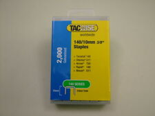 10mm Tacwise staples type 140 T50 2 packsx2000 fit Arrow T50,Stanley,Tacwise etc