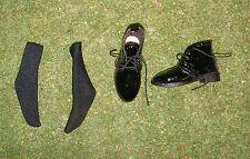 Dragón en DREAMS nos 1/6 Negro Moderno Frank DID Zapatos y Calcetines
