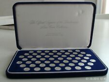 Franklin Mint Official Signers of Declaration Mini Sterling Coin Collection