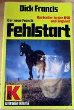 """Buch """"Fehlstart"""" von Dick Francis Ullstein Krimi"""
