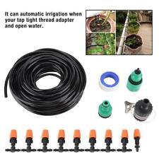 Set sistema di irrigazione con tubo 100m 25x T-Connettore//suolo gancio//sprühregner