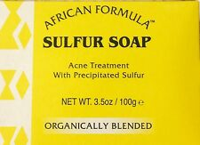Sulfur Soap Acne Treatment with Precipitated Sulfur Jabon de Azufre 3.5oz 100g