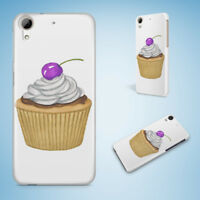 CUPCAKE SWEETS 1 HARD CASE FOR HTC DESIRE 816 820 826 10 PRO
