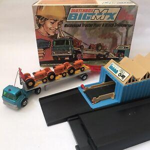 Vintage 1970's Matchbox Big MX BM 2 Ford Orange (39) Tractor Winch Lorry Boxed