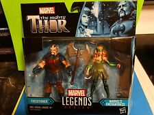 "MARVEL UNIVERSE 3.75"" ENCHANTRESS and EXECUTIONER - MIP !! Ragnarok thor legends"