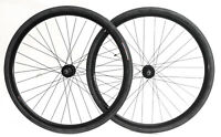 700c Disc Road Hybrid Cyclocross Bike Wheelset + Tires QR 8-10s NEW