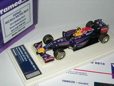 Tameo 1:43 Built TMB028 Red Bull Racing RB10 F.1 Winner Canada GP 2014 LTD NEW