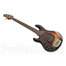 Music Man USA Stingray 5 Lefthand VSB - Vintage Sunburst RW MH *NEW (NOS) * bass