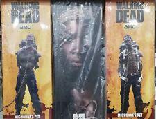 The Walking Dead MICHONNE ZOMBIE PET 1&2 Threezero Sideshow 3 Action Figure 1/6