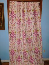 Anthropologie Purcella Printed Velvet Curtain Panel-50 x 83-OOAK