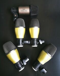 Mikrofon Set Schlagzeug 5-teilig mit CAD Audio Bass Mikrofon KBM412  - Ab 1€