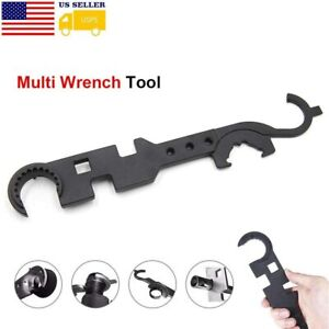 AR Tool Spanner Multifunction Wrench AR Outdoor Combo & Armor Wrench