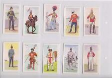 PROPERT'S SHOE POLISH BRITISH UNIFORMS FULL SET OF 25 CARDS IN PLASTIC WALLETS