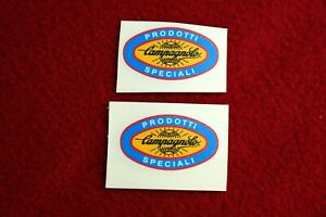 """""""PRODOTTI SPECIALI CAMPAGNOLO"""" FRAME DECAL SET FOR RESTORE OLD FRAMES 2PCS/SET"""
